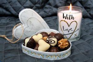 opakowanie czekoladek weselnych